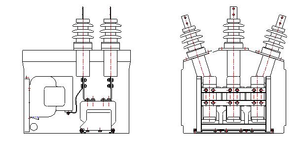 3 Схема расположения ПКУ при